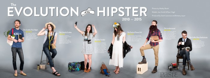 Evolution of a Hipster 2010 2015 700x259 Evolution of a Hipster 2010 2015 Wallpaper Humor Hipsters