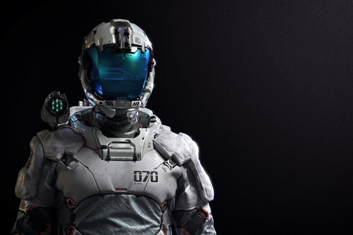 Future Spaceman 700x467 Future Spaceman Wallpaper Fantasy   Science Fiction