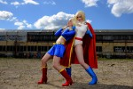 Power Girl Supergirl 002 150x100 supergirl and powergirl cosplay supergirl Sexy powergirl cosplay Comic Books