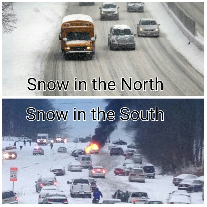 Snow in the North Vs South.jpg