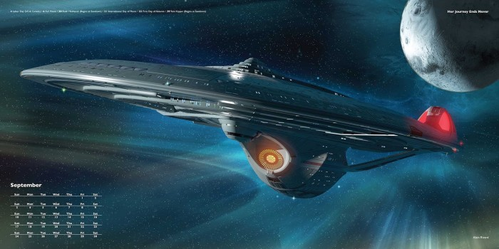 Universe Publishing Star Trek Ships of the Line 2017 calendar September.jpg
