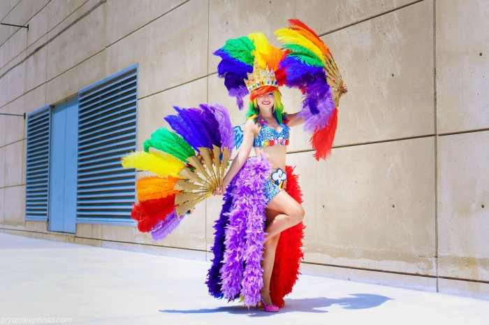 Vegas Rainbow Dash by Cosplay Hazard