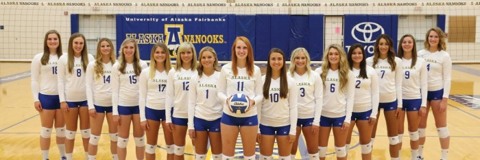 Alaska Nanooks Vollyball Team 700x233 Alaska Nanooks Vollyball Team Wallpaper Sports Sexy