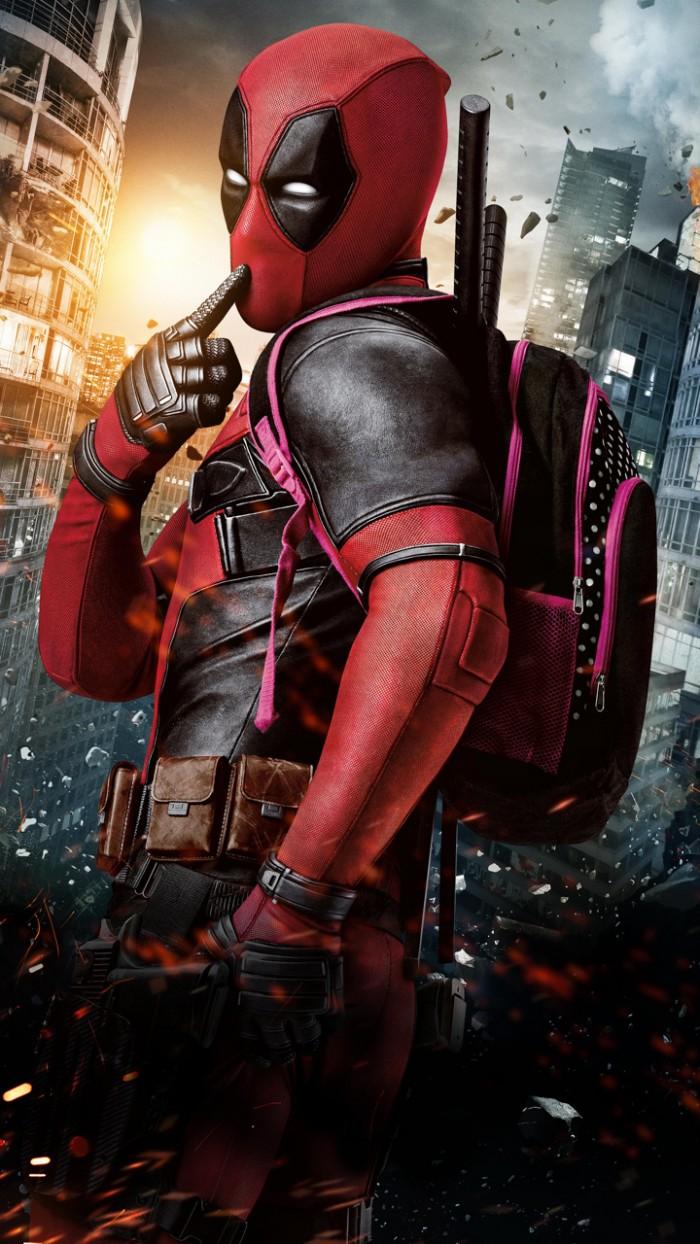 Deadpool With His Ammo Bag Myconfinedspace
