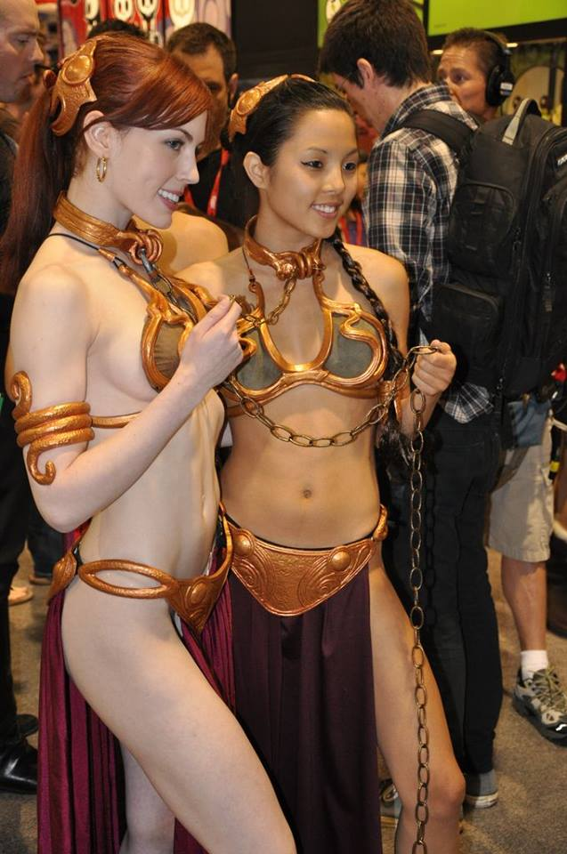 GFzJgfE slave leias star wars slave leia Sexy NeSFW cosplay