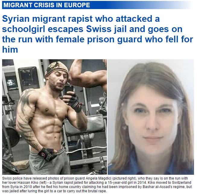 Syrian migrant rapist Syrian migrant rapist