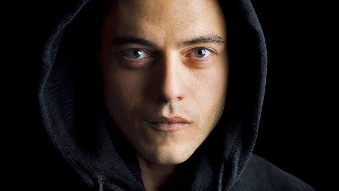 a hacker in a hoodie 700x394 a hacker in a hoodie Wallpaper Television Mr Robot