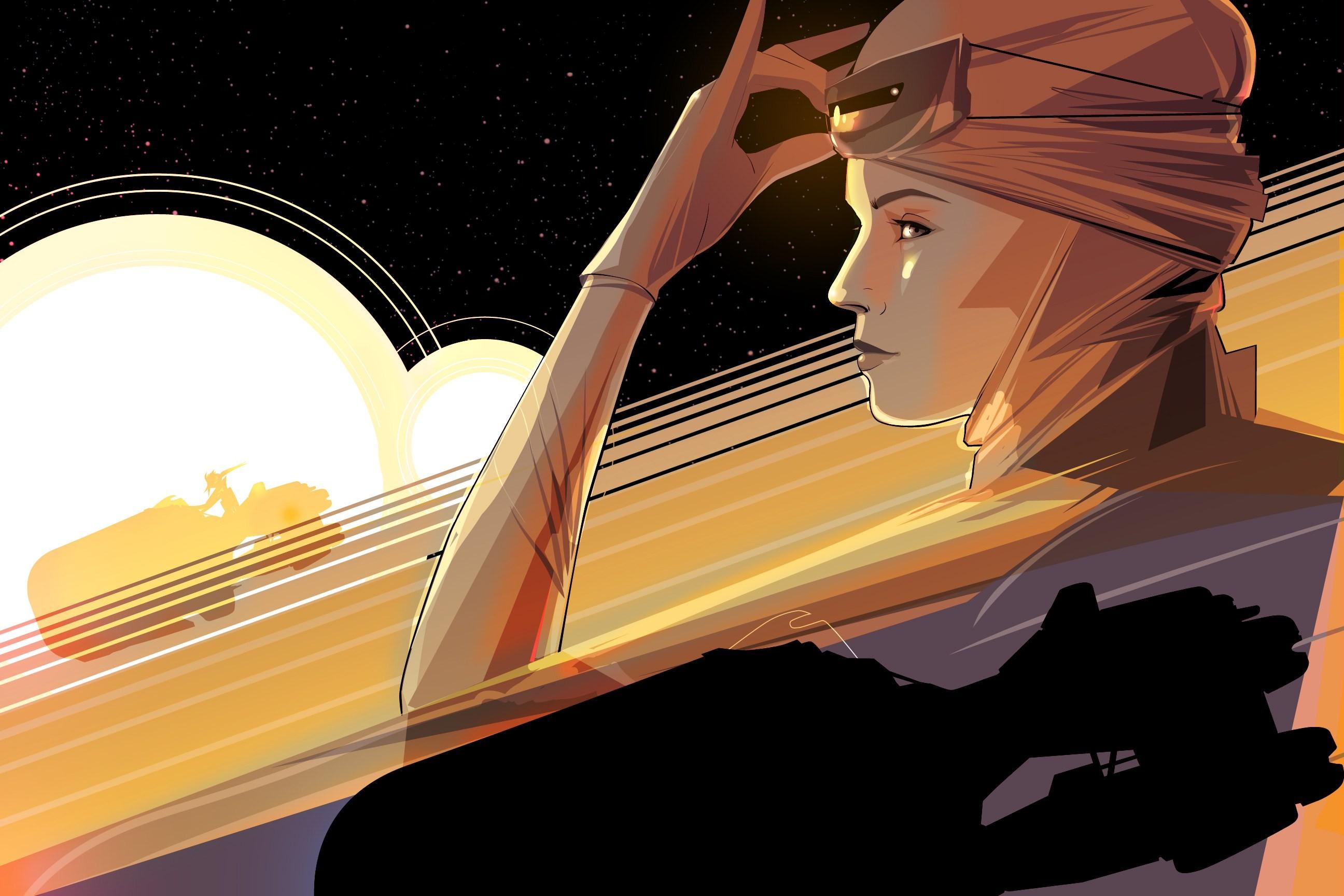 big 6b14f93ec89612382bb4ad35e2afdfbb339a4772 Star Wars: The Force Awakens Star Wars : The Force Awakens Rey illustration Craig Drake Art