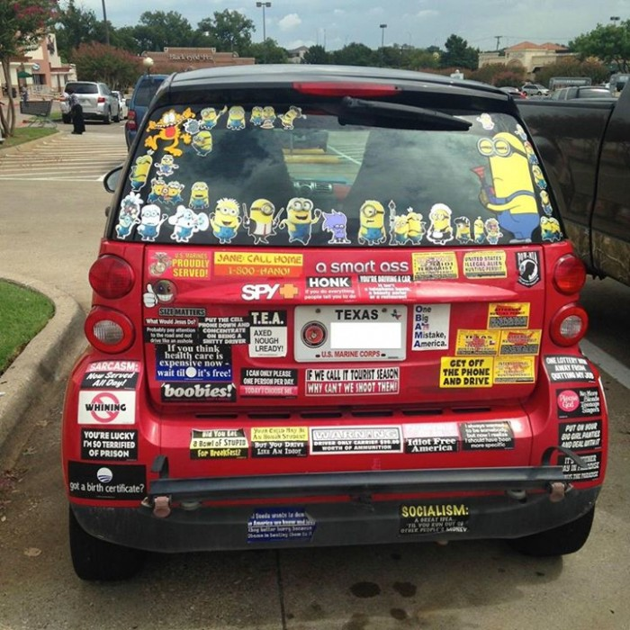 over doing it 700x700 over doing it wtf Minions Cars