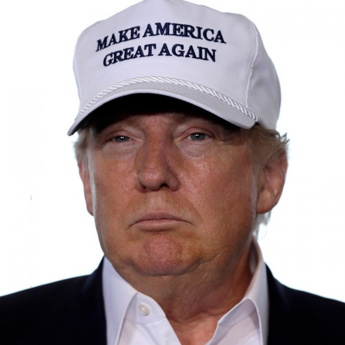 trump in a pink hat 700x700 trump in a pink hat Humor election 2016 donald trump