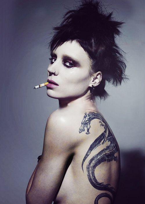 tumblr o226yzPwKZ1skelofo1 500 Girl with the Dragon Tattoo rooney mara promo photography NeSFW Girl with the Dragon Tattoo