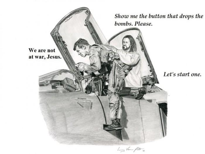 jesus the bomber Jesus