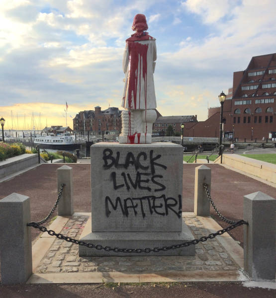 Black Live Matter desecrated a national monument.jpg