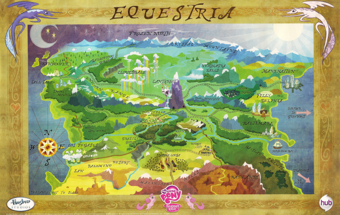 Equestria Map
