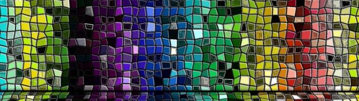 Mosiac - Rainbow Tiles