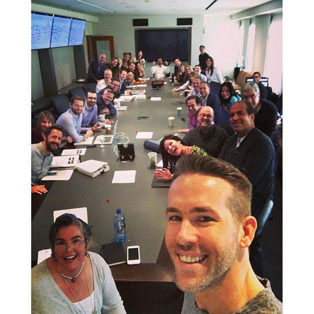 Ryan Reynolds and the marketing team for Deadpool