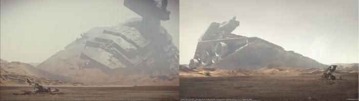 SW - Crashed Star Destroyer