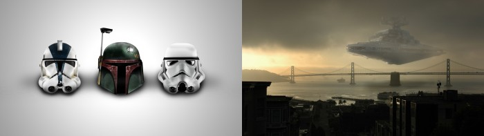 SW - Helmets & Star Destroyer