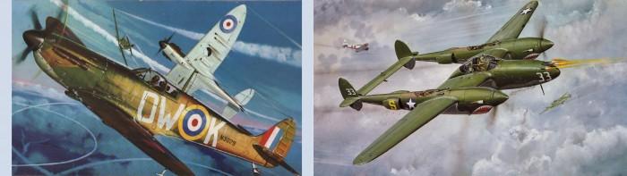 WW2 - Spitfire & Lightning