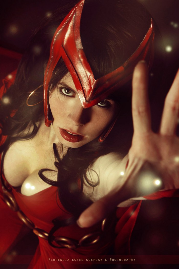 White Lemon Cosplay as Scarlet Witch 700x1050 White Lemon Cosplay as Scarlet Witch
