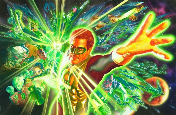 green lantern and friends 700x456 green lantern and friends