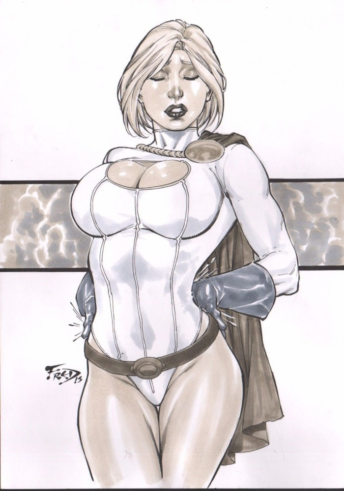 powergirl's back pain