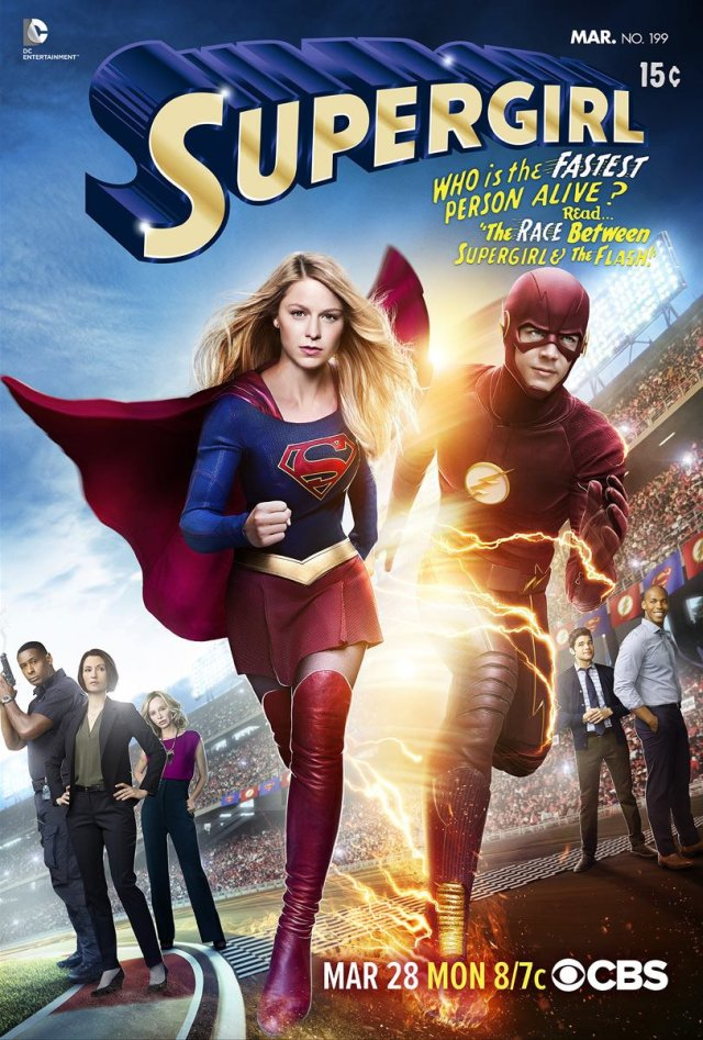 supergirl vs the flash supergirl vs the flash