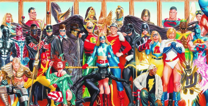 the Justice Society of America 700x356 the Justice Society of America