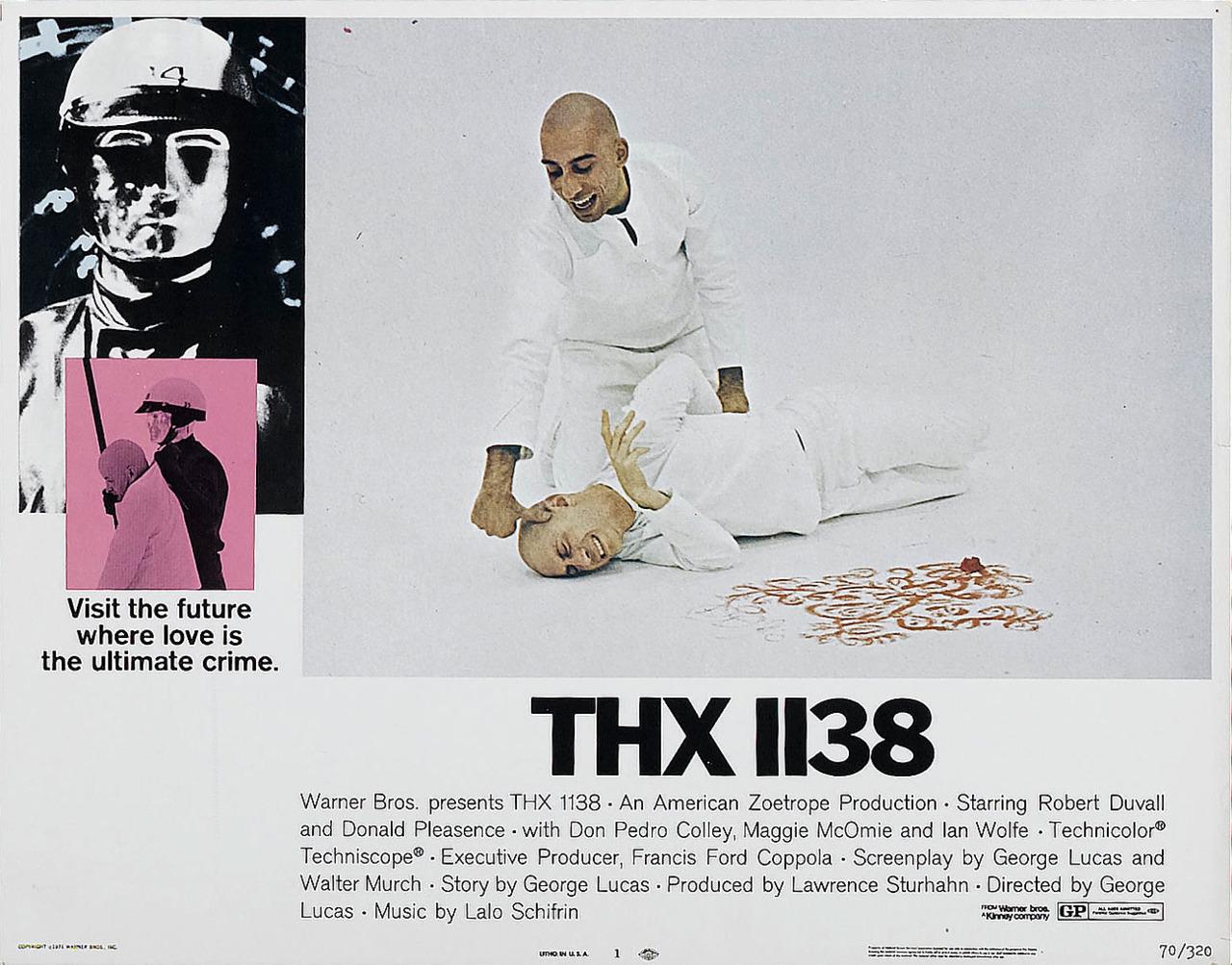 tumblr lvmud5Uhz51qkcj94o1 1280 THX 1138 THX 1138 Photography lobby cards design
