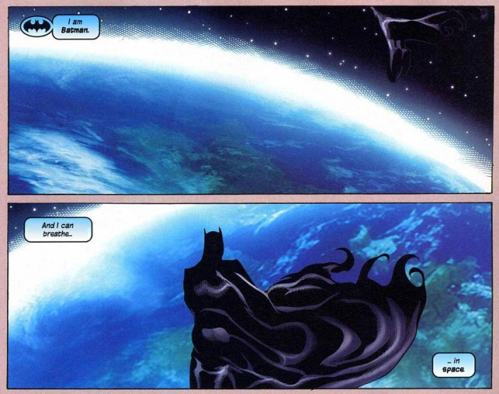 Batman Space 700x553 Batman – Space