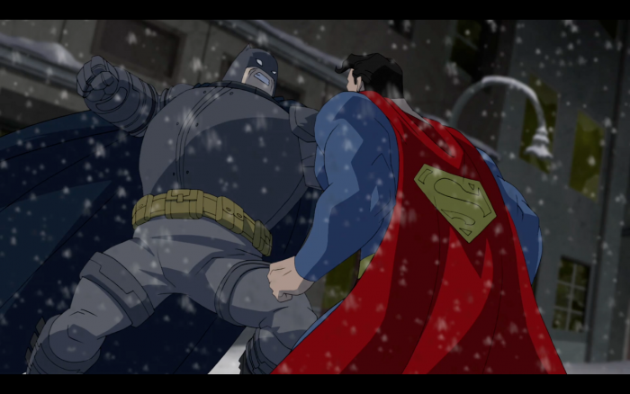 Batman about to kill superman 700x438 Batman about to kill superman