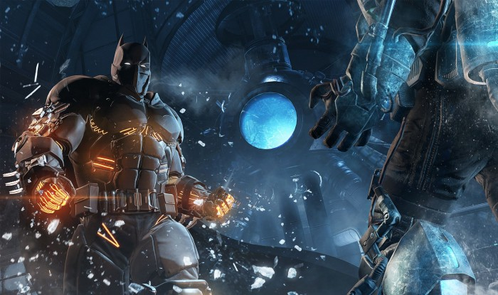 Batman vs blue ice man 700x415 Batman vs blue ice man