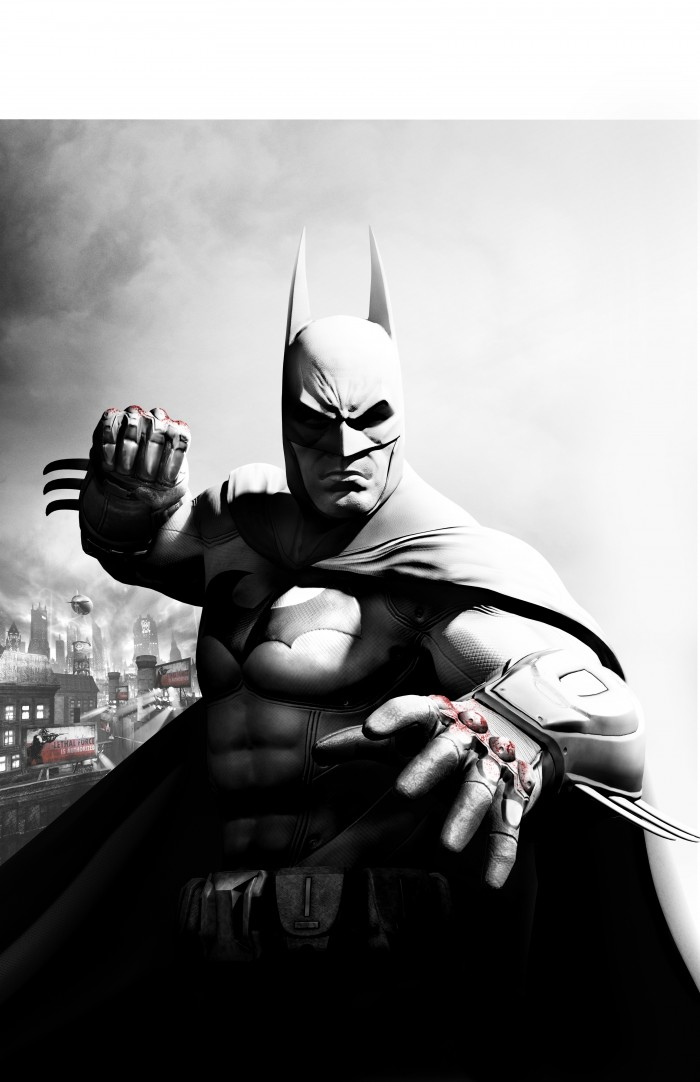 Batman with bloody knuckles 700x1082 Batman with bloody knuckles