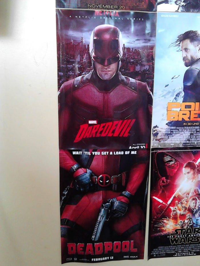 Daredevil and Deadpool posters line up 700x933 Daredevil and Deadpool posters line up