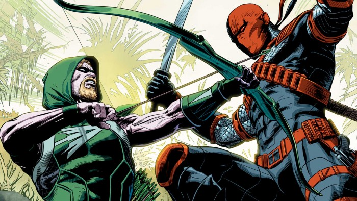 Green Arrow vs Deathstroke 700x394 Green Arrow vs Deathstroke