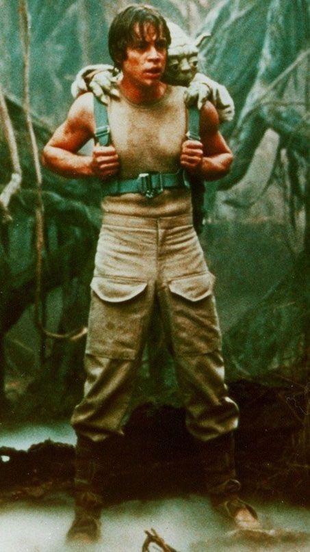 Hamill Yoda Jedi in Training star wars Photography Jedi Training Humor