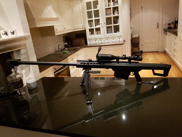 Kitchen Sniper Rifle 700x525 Kitchen Sniper Rifle