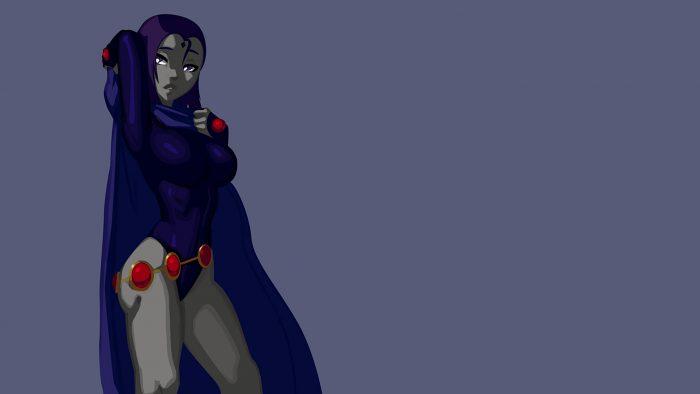 Raven taking off her hood.jpg