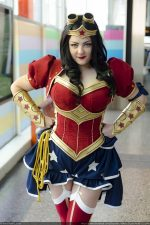 Steampunk Power Girl Rini Cosplay Wonder Woman Kotone Cosplay 001 1 150x225 Power Girl by Rini and Wonder Woman by Laura