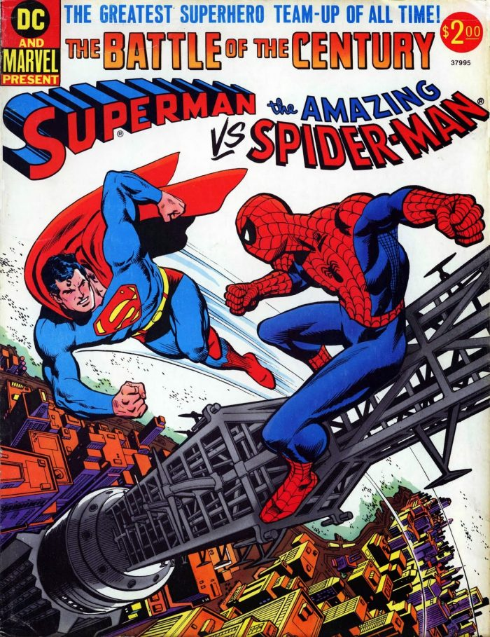 Superman Vs The Amazing Spider man 700x909 Superman Vs The Amazing Spider man