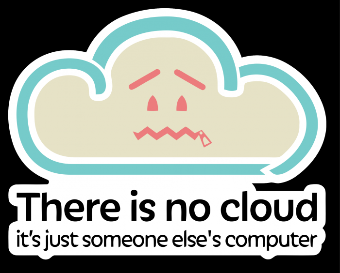 There is no cloud 700x564 There is no cloud