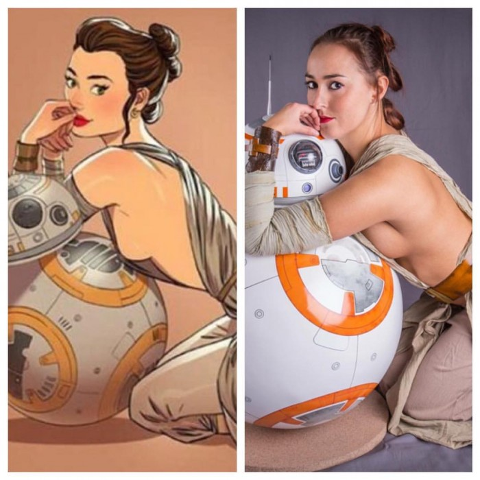 bb 8 cosplay 700x700 bb 8 cosplay star wars Sexy NeSFW cosplay bb 8