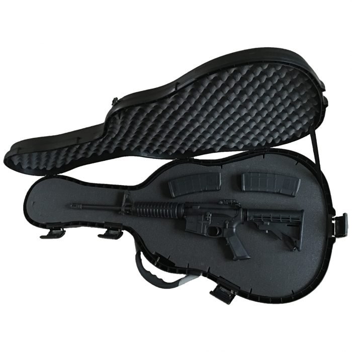 guitar machine gun case