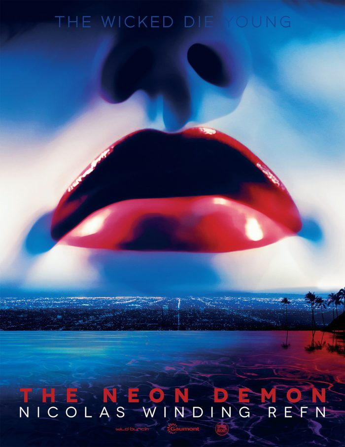 neon demon teaser poster 700x907 The Neon Demon trailer The Neon Demon poster