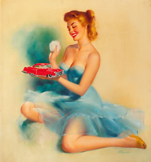 vintage pinup girls art 016 11262013 Pin Up wtf women Sexy pin up not exactly safe for work NeSFW interesting girls .awesome