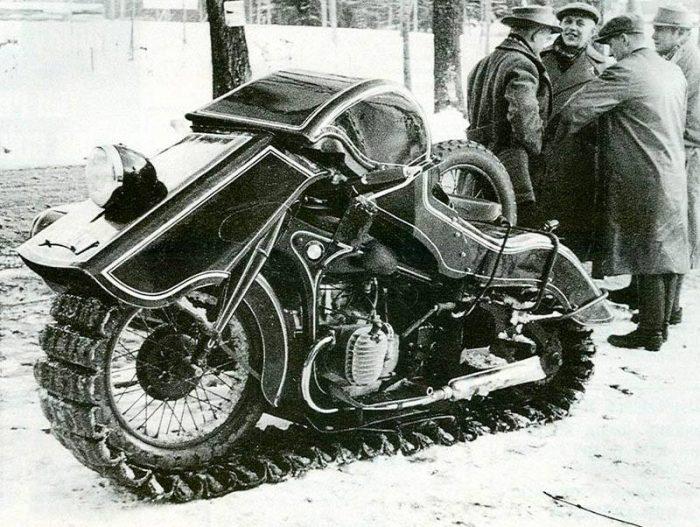 1936 BMW Schneekrad