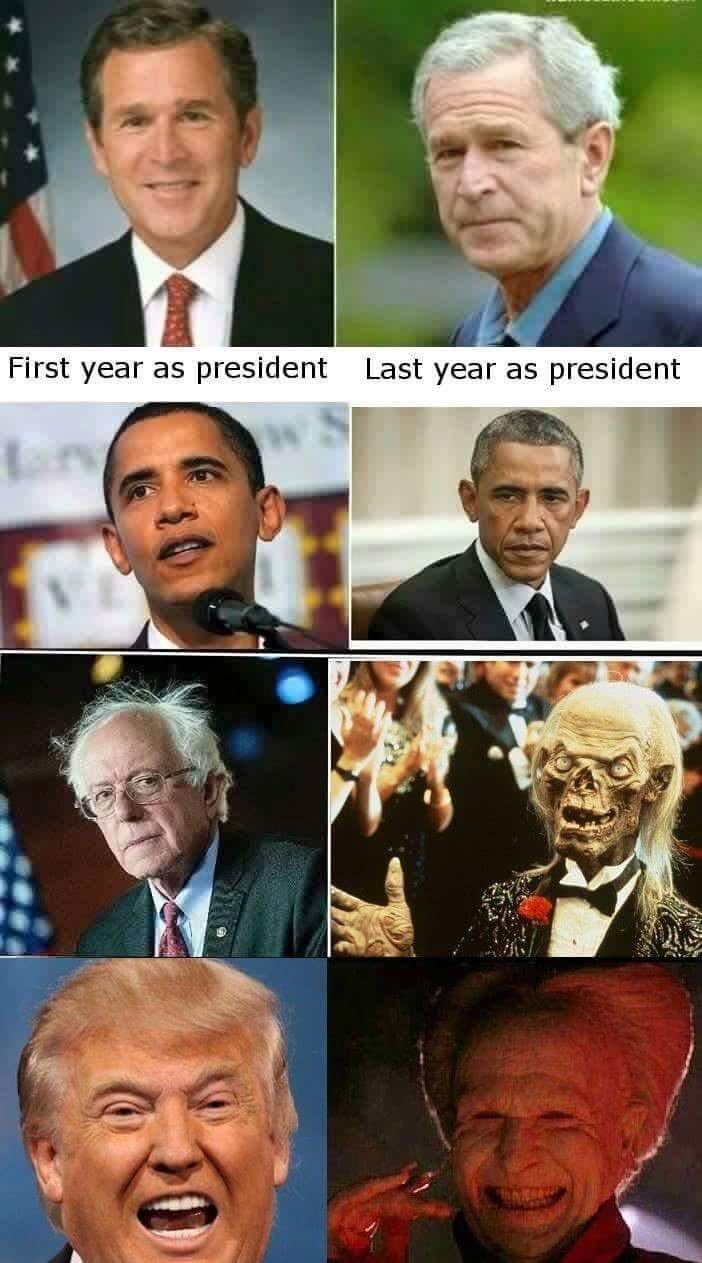 Being president ages you.jpeg