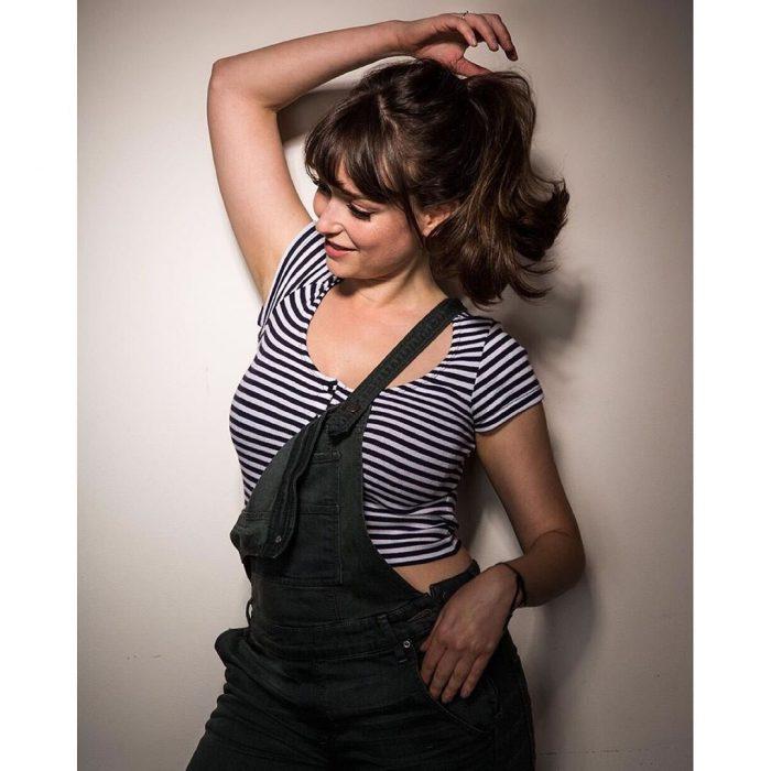 Milana in a striped shirt.jpg