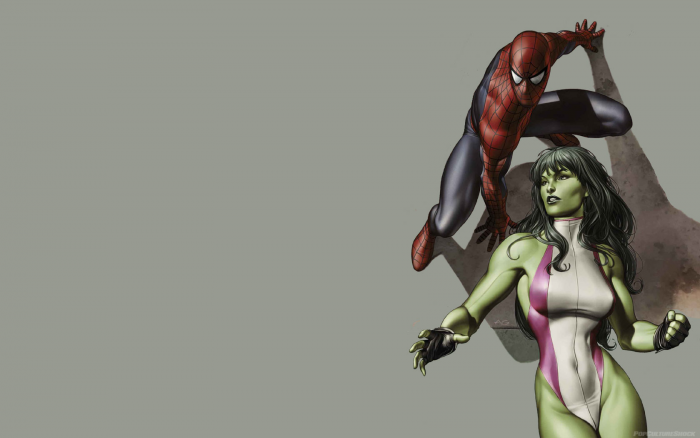 She Hulk and Spider-man.png