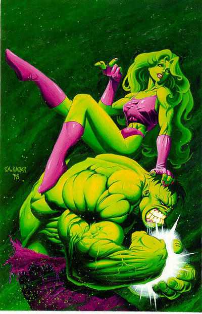 She Hulk and her Cousin.jpg